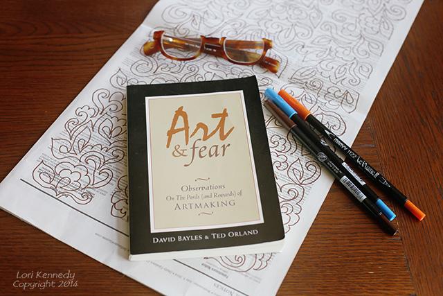 Art & Fear, Bayles, Orland