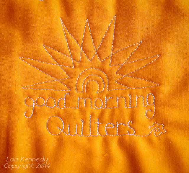 Sunshine Free Motion Quilting