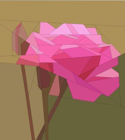 Rose: Paper Piecing Pattern