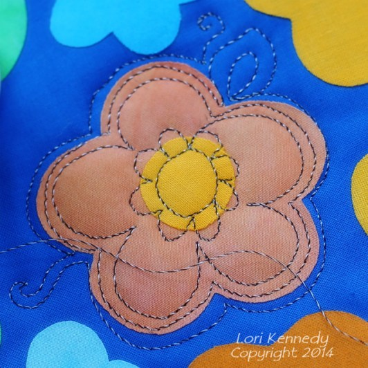 Free Motion Quilting and Raw Edge Applique