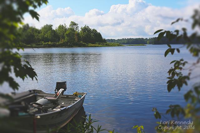 Chippewa Flowage, Boat Scene