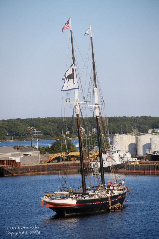 Cape Cod, Black Dog Ship, Columbus Day