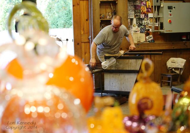 Blown Glass Pumpkins