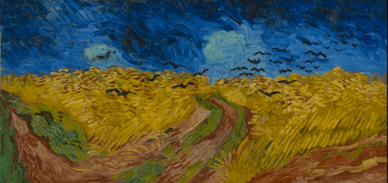 Wheat Field with Crows, Vincent Van Gogh