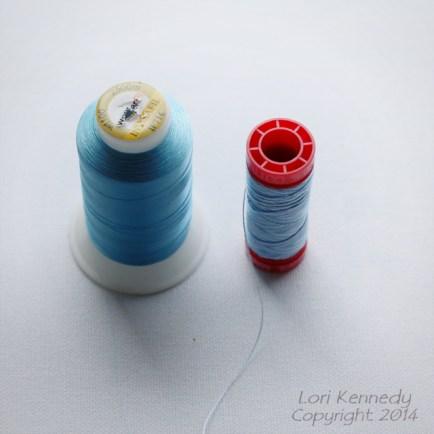 Sewing thread Rainbow
