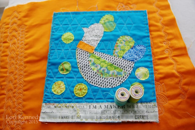 Bird Applique