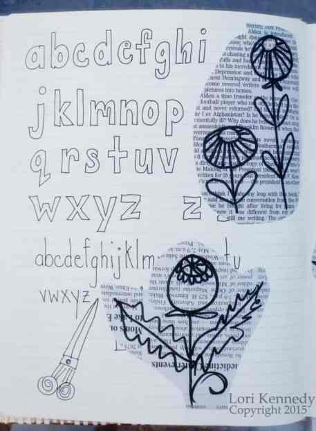 Poppy Pods Doodles