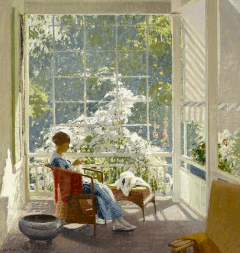 John Sharman, At the End of the Porch