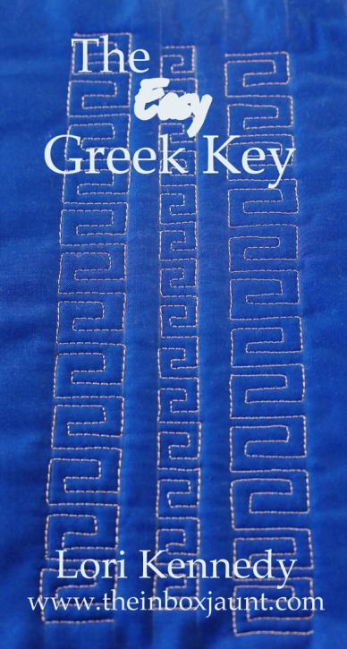 Greek Key, FMQ, LKennedy, The Inbox Jaunt
