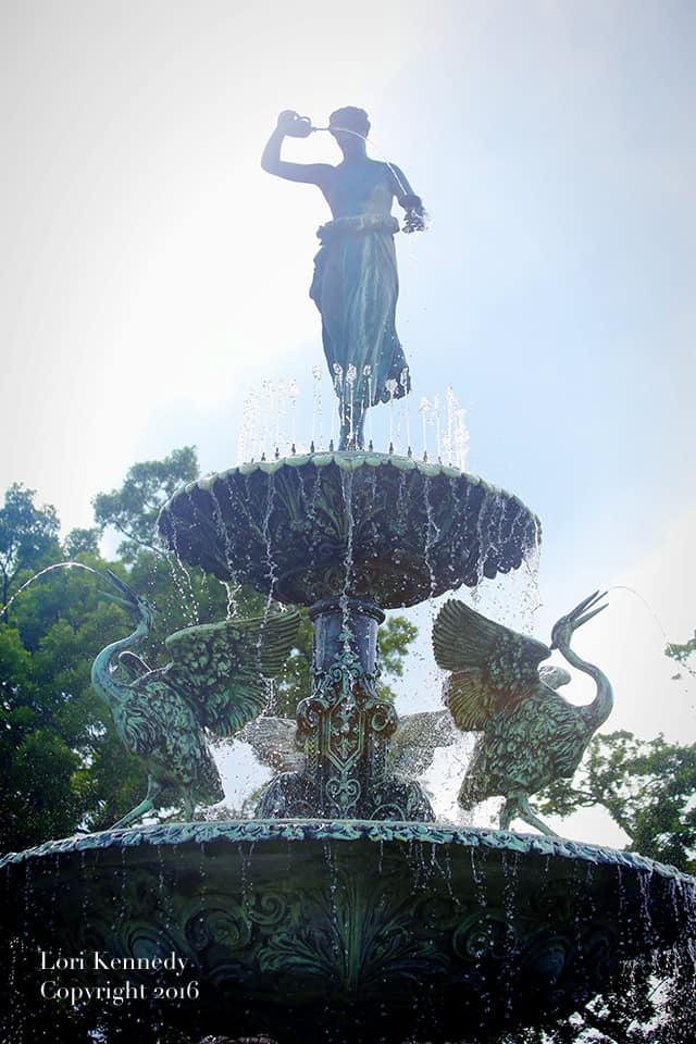 Lori Kennedy Designs, Photography, Fountain
