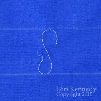 Ribbon Candy, FMQ, Lori Kennedy