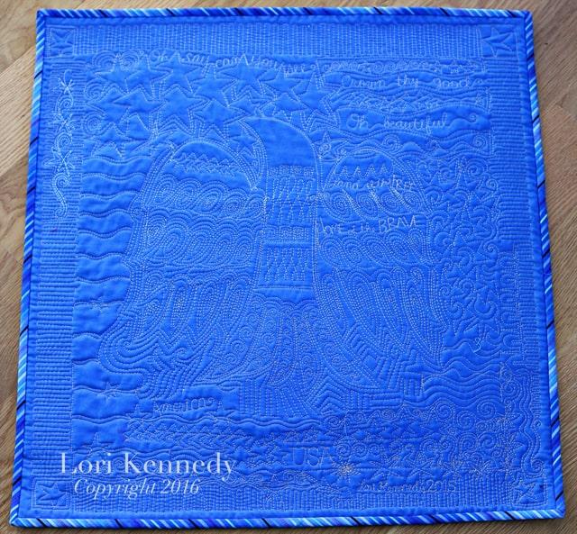 American Graffiti Quilt, Lori Kennedy