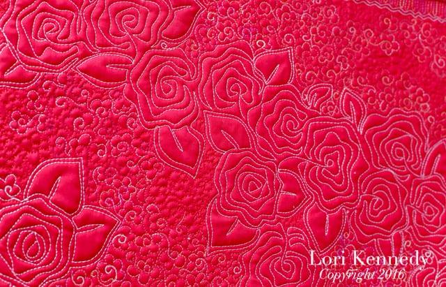 Floral motif combination