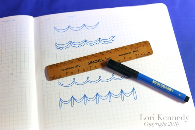 Scallop Doodles, Lori Kennedy