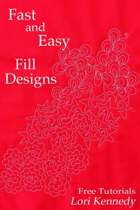 Machine Quilting, Fill Designs, Fast and Easy