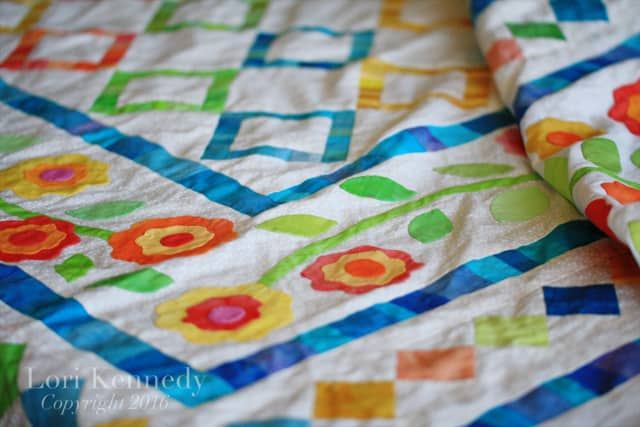 Boxes and Vines Quilt