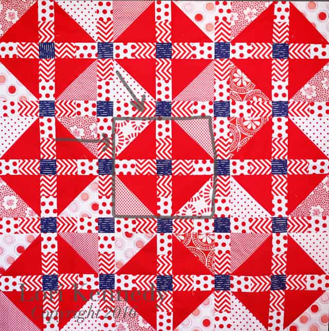 Red, White and Blue Quilt, Lori Kennedy