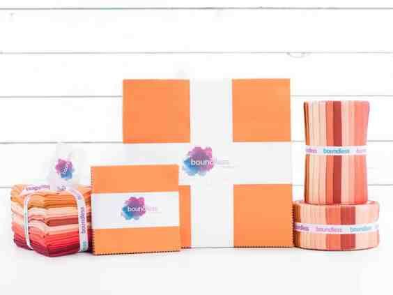 Boundless Orange Fabric