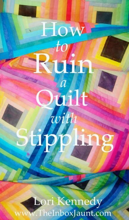 Ruin Quilt, Stippling, Lori Kennedy