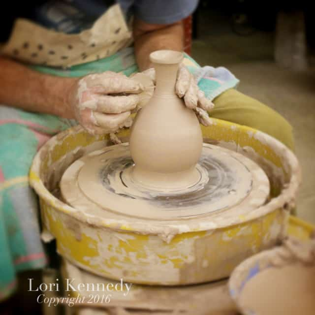 Photography, Hands at Work, Pottery, Peter Green