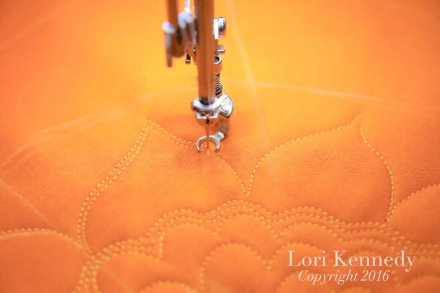 Sunflower Sampler, FMQ, Lori Kennedy