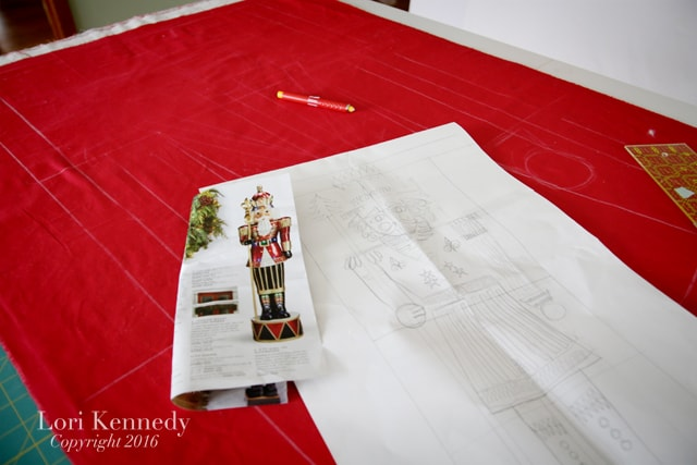 Nutcracker, FMQ, Quilting Pattern