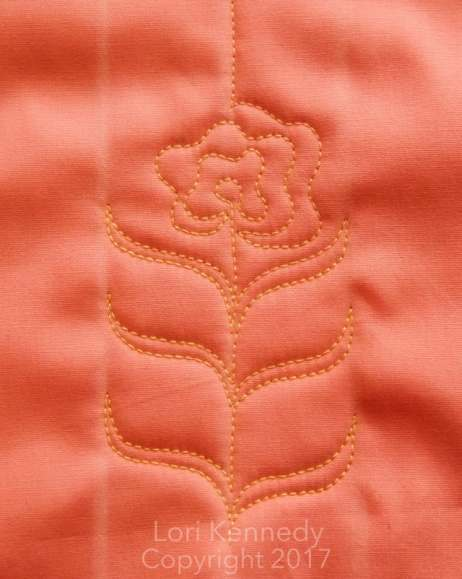 The Carnation--A Free Motion Quilt Tutorial