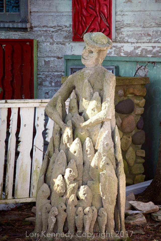 Mary Nohl Sculpture