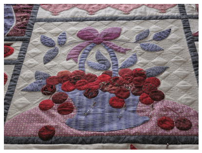 Vireya's Grid Pop on Applique