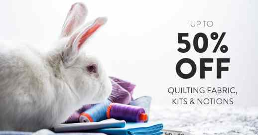 Craftsy Quilting Sale