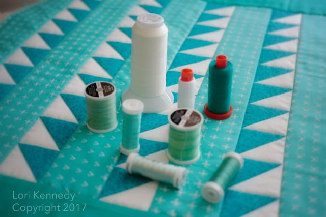 Machine Quilting QAL thread