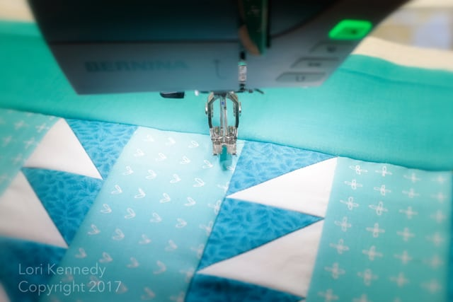 Machine Quilting QAL Stabilizing