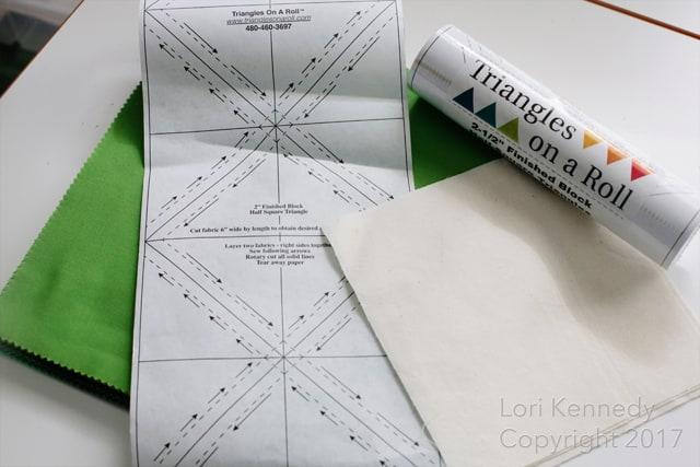 Triangles on a Roll, Lori KennedyTriangles on a Roll, Lori Kennedy