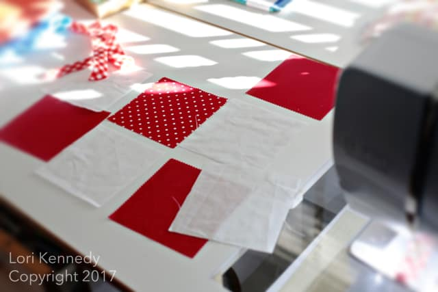 Charm Squares, Quilting