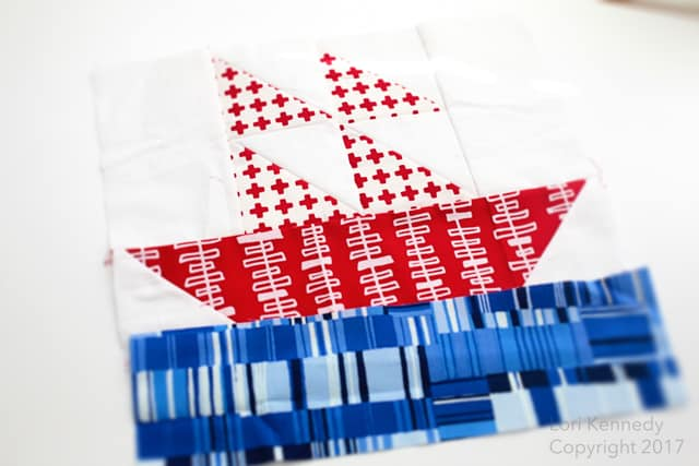 Sailboat Block, Quilt