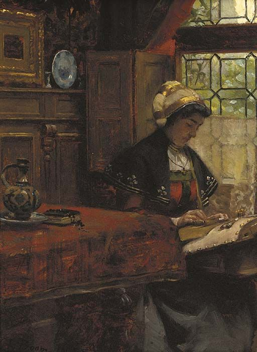 The Lacemaker, Charles Boom