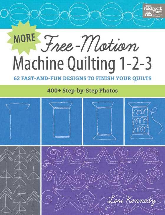 Machine Quilting, Book Cover, Lori Kennedy