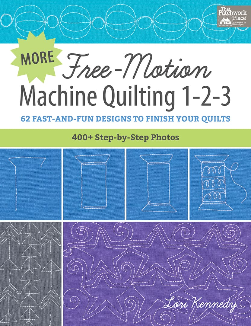 Machine Quilting, Book Cover, Lori Kennedy