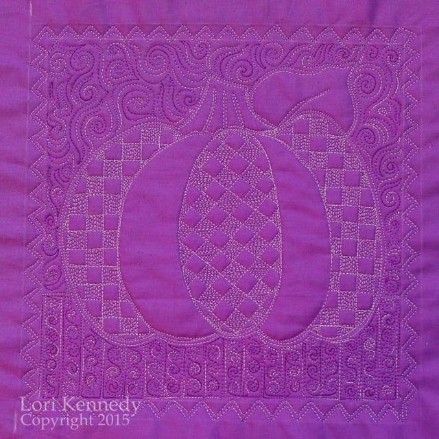 Lori Kennedy Quilts, The Pumpkin Sampler