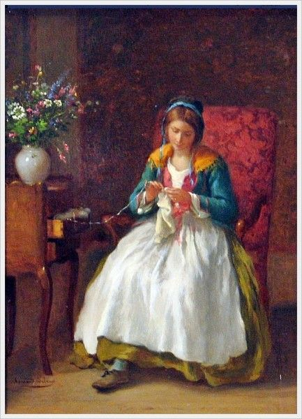 Armand Hubert Simon Leleux (French, 1818-1885)