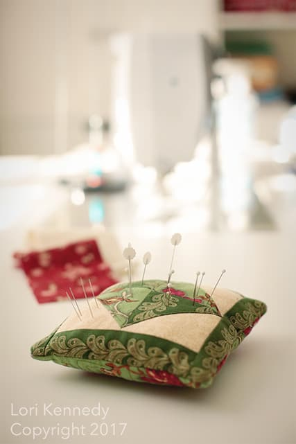 Pin cushion, BERNINA