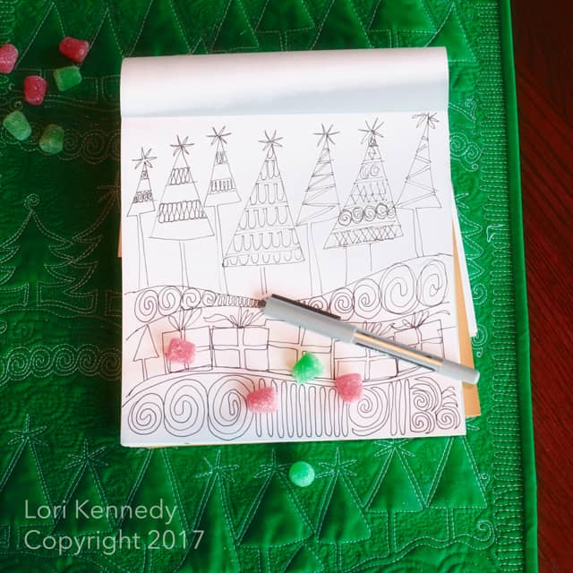 How to Doodle a Christmas Tree, Lori Kennedy