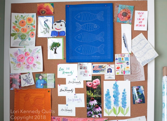Vision Board, April, Lori Kennedy