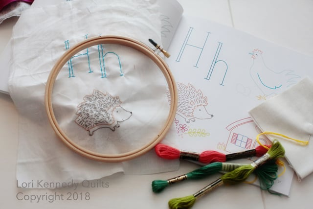 Lunch Hour Embroidery