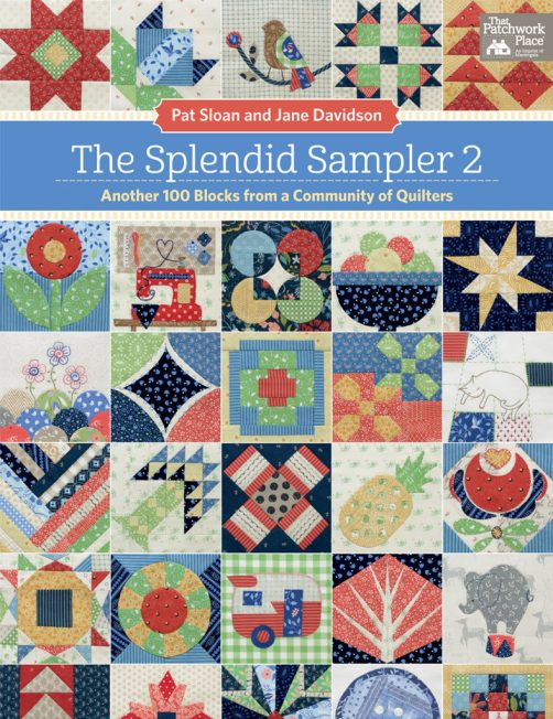 The Splendid Sampler 2 book cover