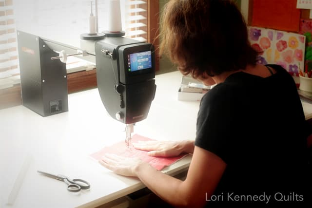 Nora, Beginning Machine Quilting