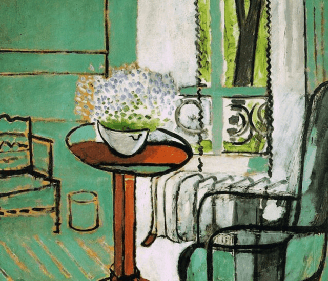 Henri Matisse, The Window, (Interior with Forget me Nots)