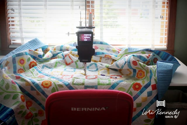 BERNINA Q20 Quilting, Lori Kennedy Quilts