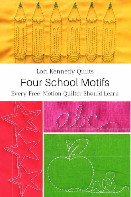 Back to school quilting tutorials