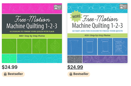 MORE Free Motion Machine Quilting 1-2-3!